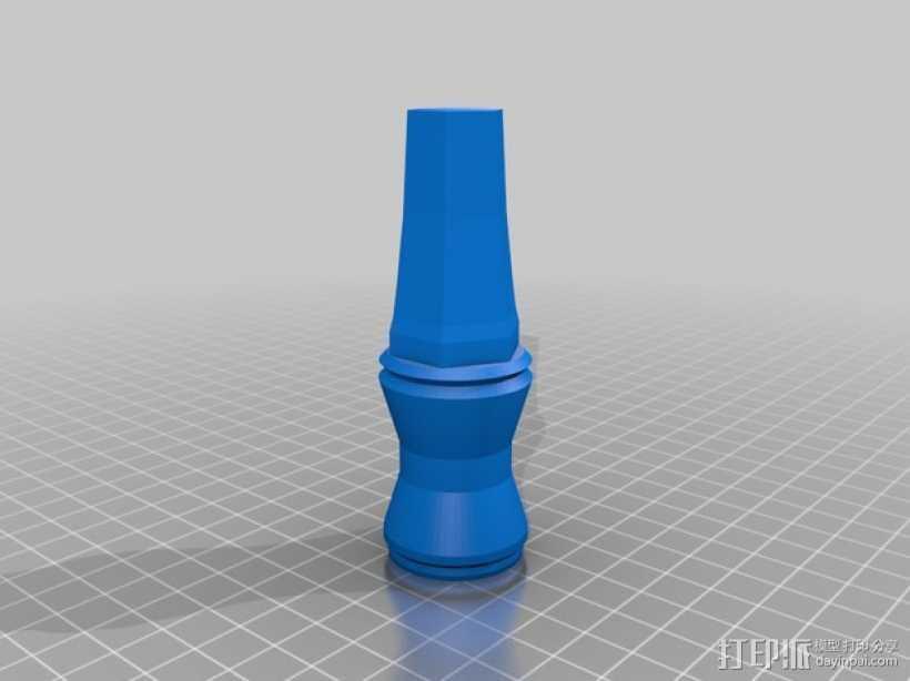 神秘博士的音速起子 3D打印模型渲染图