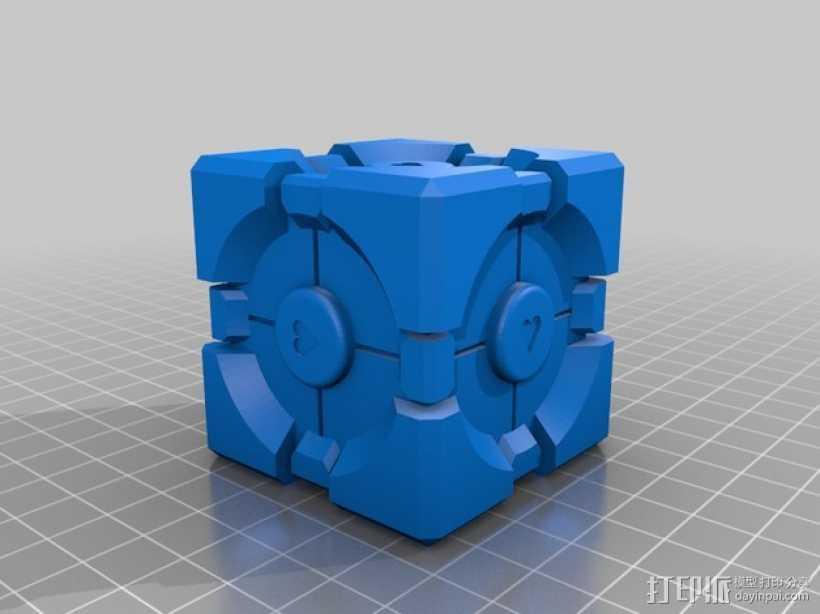 传送门  3D打印模型渲染图