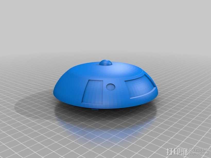 太空迷失 飞船 3D打印模型渲染图