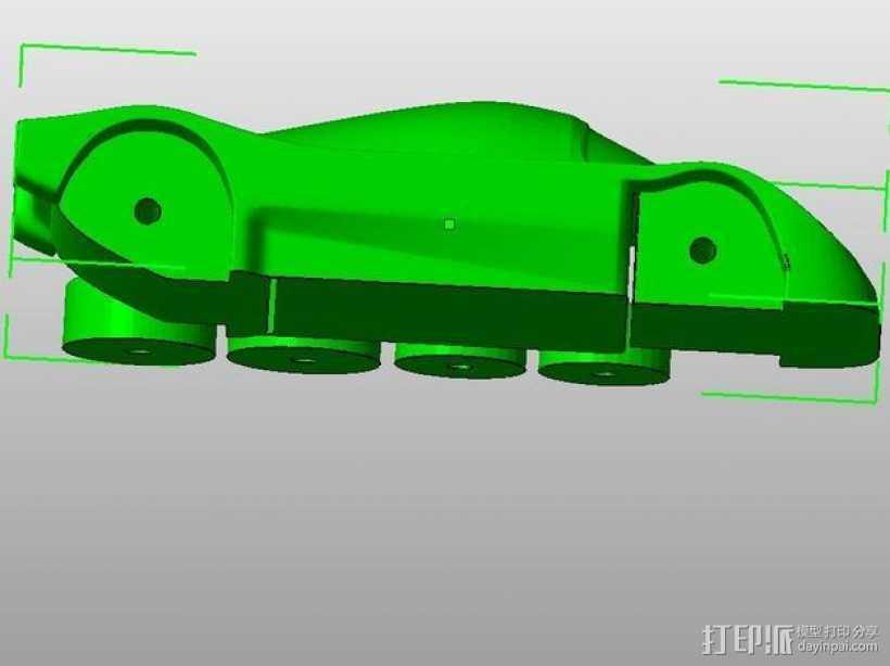 梅赛德斯c9汽车 3D打印模型渲染图