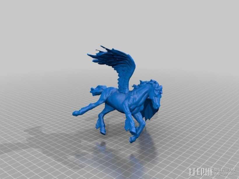 飞马 3D打印模型渲染图