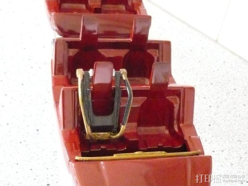 过山车车厢 3D打印模型渲染图