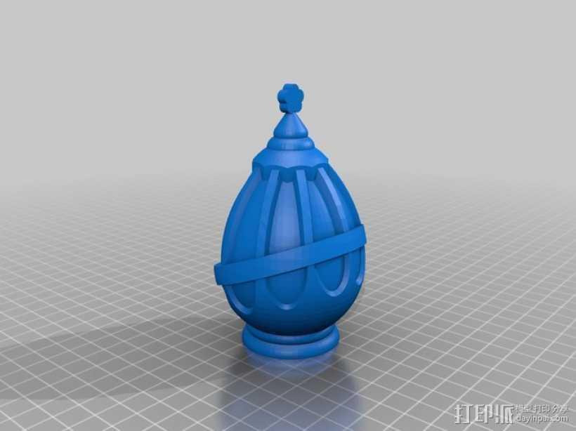 灵魂宝石 3D打印模型渲染图