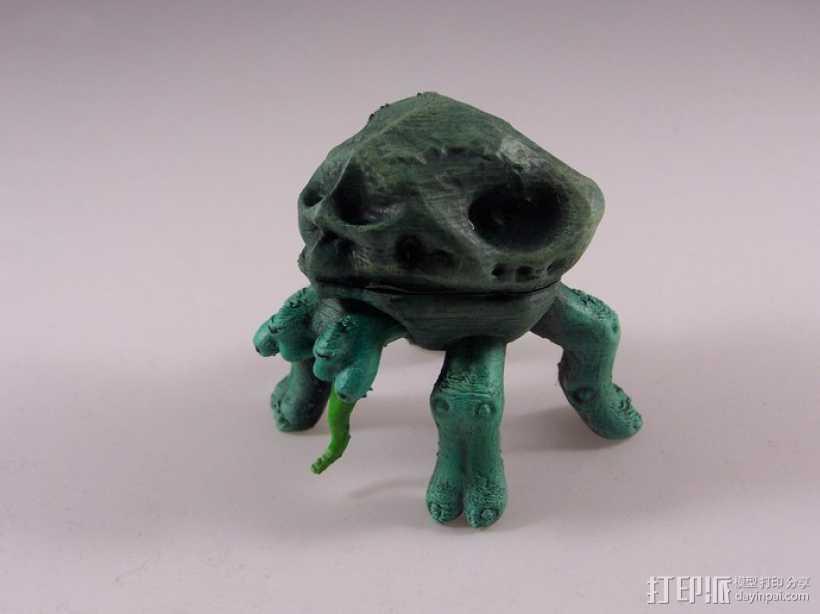 地幔蟹Porter 3D打印模型渲染图