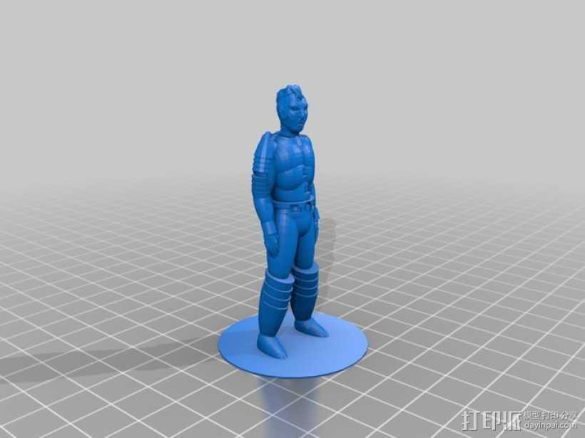 机器人Solver 3D打印模型渲染图