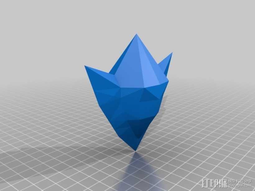 塞尔达传说 石头 3D打印模型渲染图