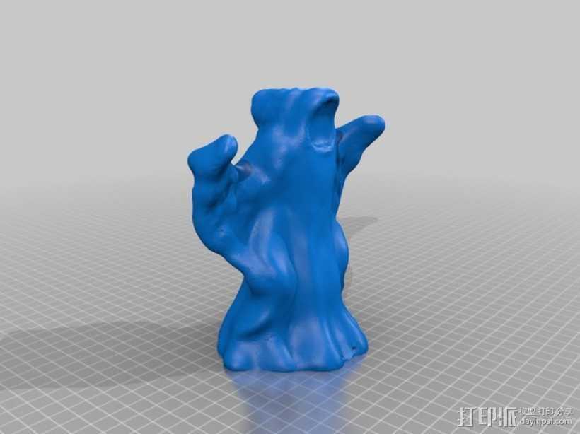 万圣节幽灵 3D打印模型渲染图