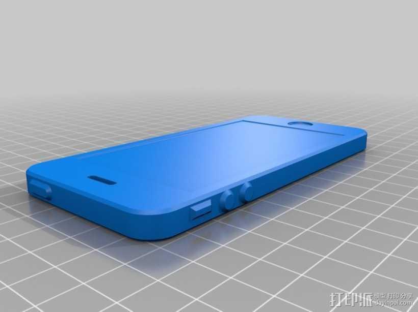 iPhone 5手机模型 3D打印模型渲染图