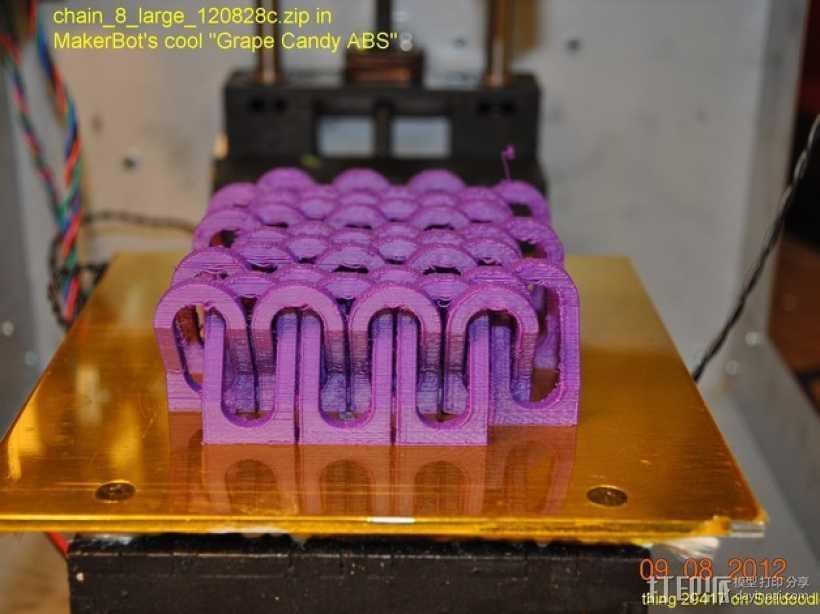 锁链  链甲 3D打印模型渲染图