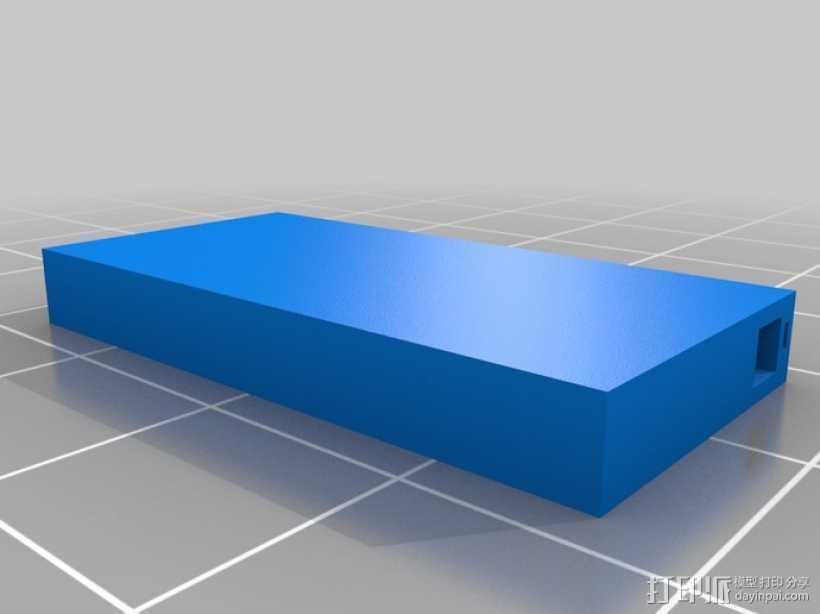 加拿大国旗 3D打印模型渲染图