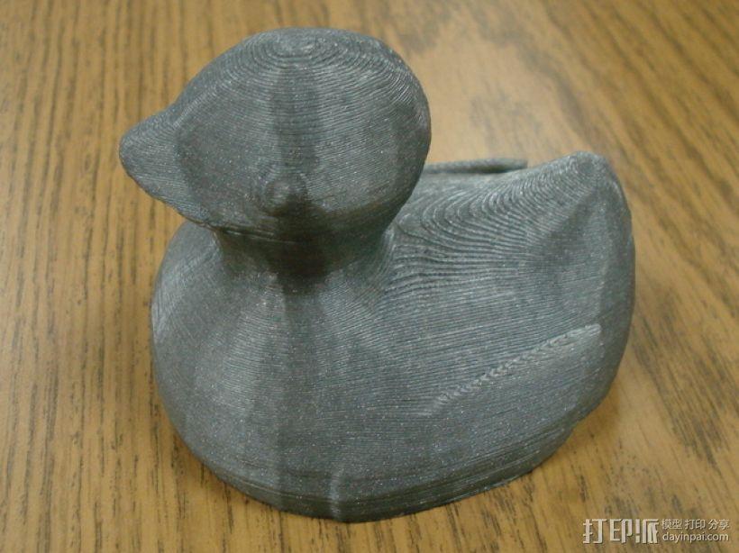 小鸭子 3D打印模型渲染图