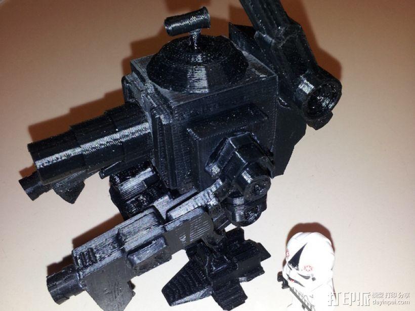 MiniFig 机器人 3D打印模型渲染图