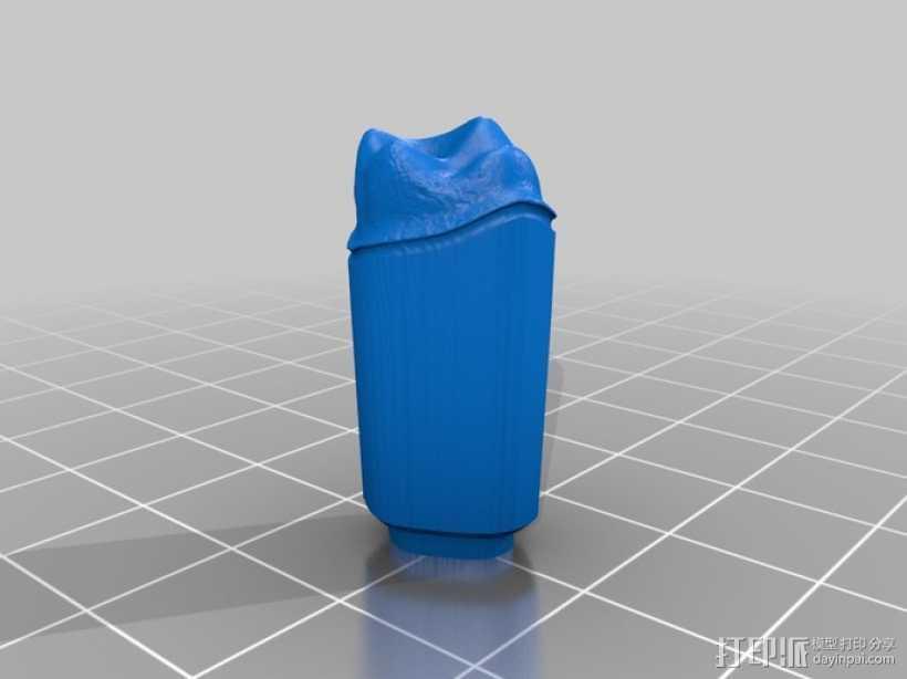 牙齿和牙床 3D打印模型渲染图