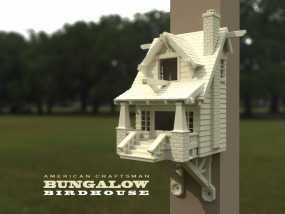 漂亮鸟笼房子