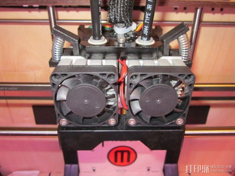 精简的MK7替代者 3D打印模型渲染图