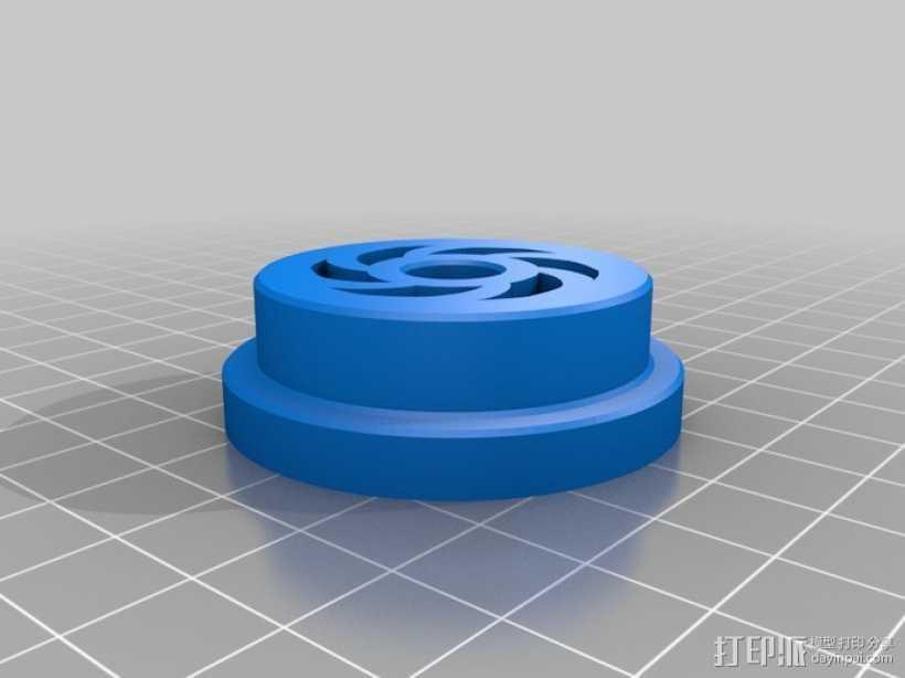 卷盘轴 3D打印模型渲染图