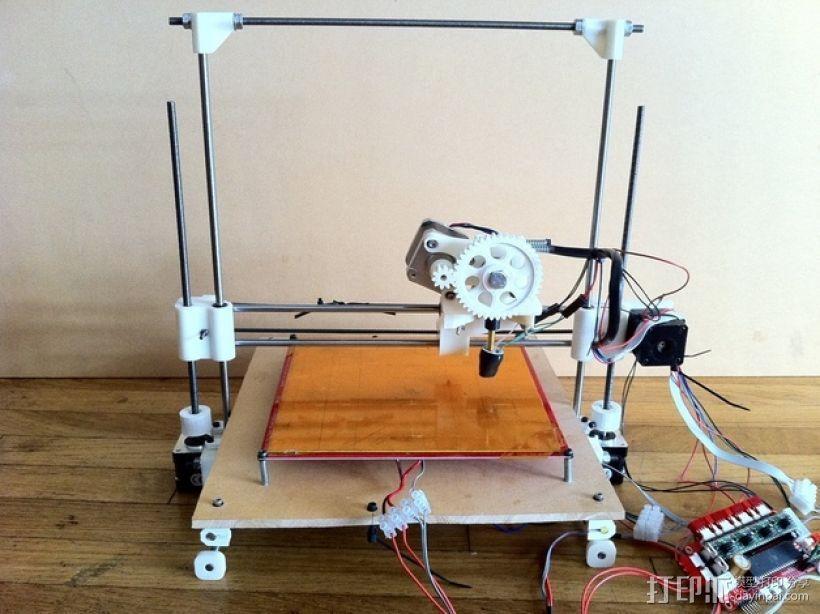 参数化Reprap打印机 3D打印模型渲染图