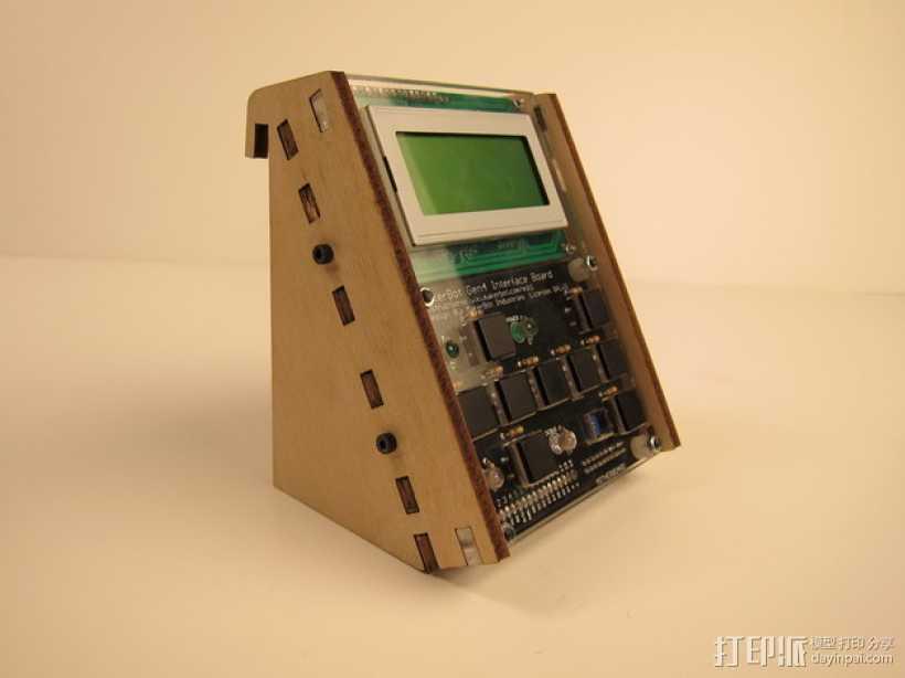 MakerBot Gen4 接口装备 3D打印模型渲染图