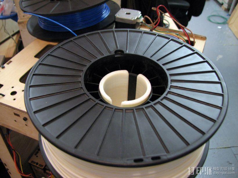 丝线轴架 3D打印模型渲染图