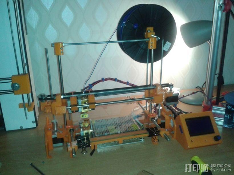 RepRap TinkerBot 3D打印机 3D打印模型渲染图