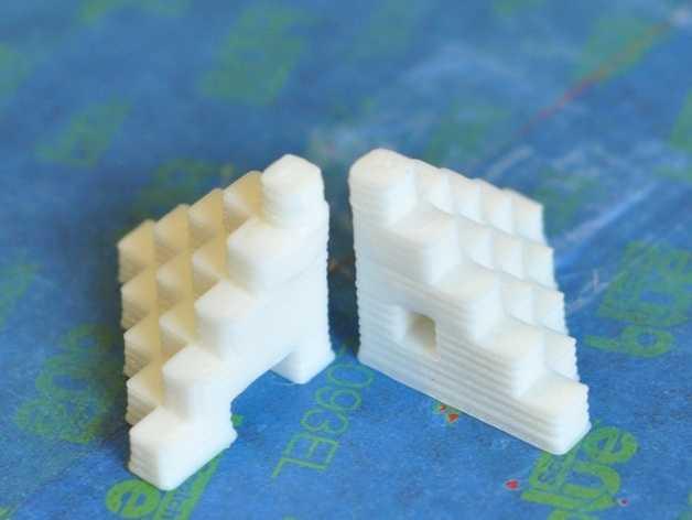 5毫米校准装置 3D打印模型渲染图
