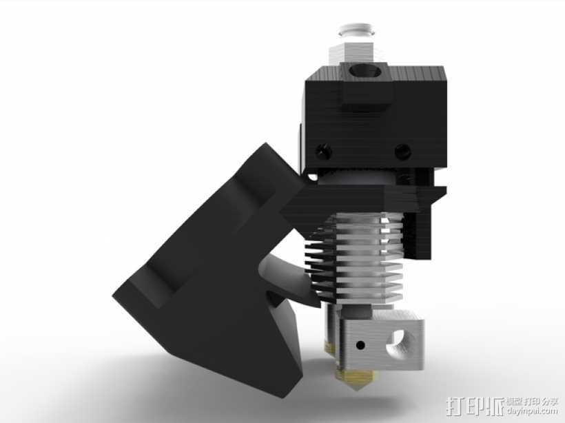 Prusa i3 3D打印机双挤出机 3D打印模型渲染图