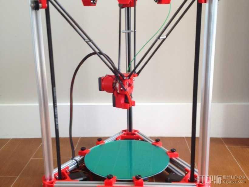 Kossel 3D打印机 3D打印模型渲染图