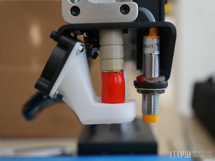 Printrbot通风导管  3D打印模型渲染图