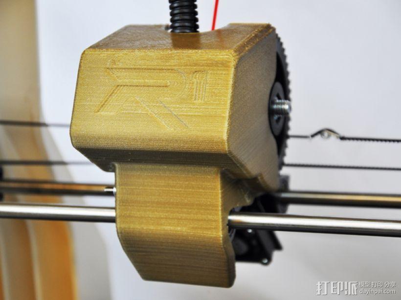 ROBO挤出机护罩 3D打印模型渲染图
