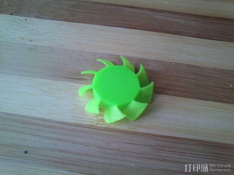 风扇扇叶 3D打印模型渲染图