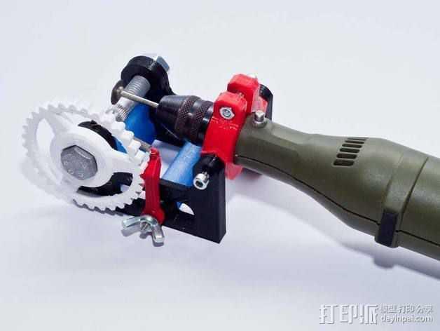 个性化hobbet螺栓 3D打印模型渲染图
