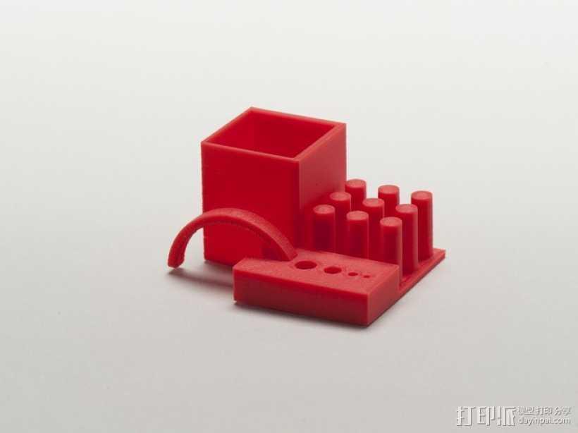 打印机稳定性测试样品 3D打印模型渲染图