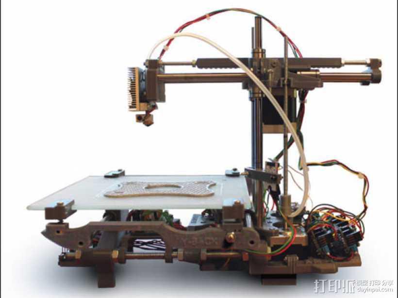 Smartrap MC3 3D打印机 3D打印模型渲染图