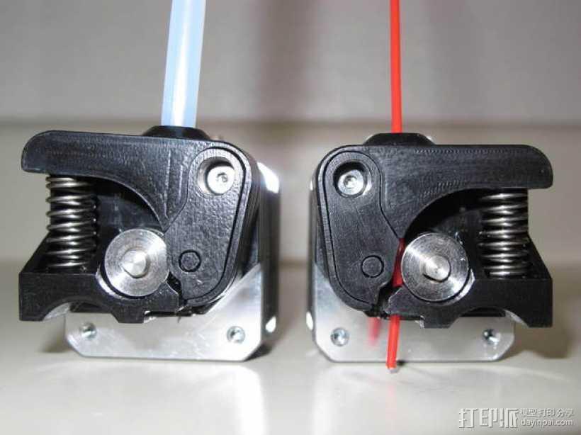Replicator 2X 3D打印机挤出机驱动装置 3D打印模型渲染图