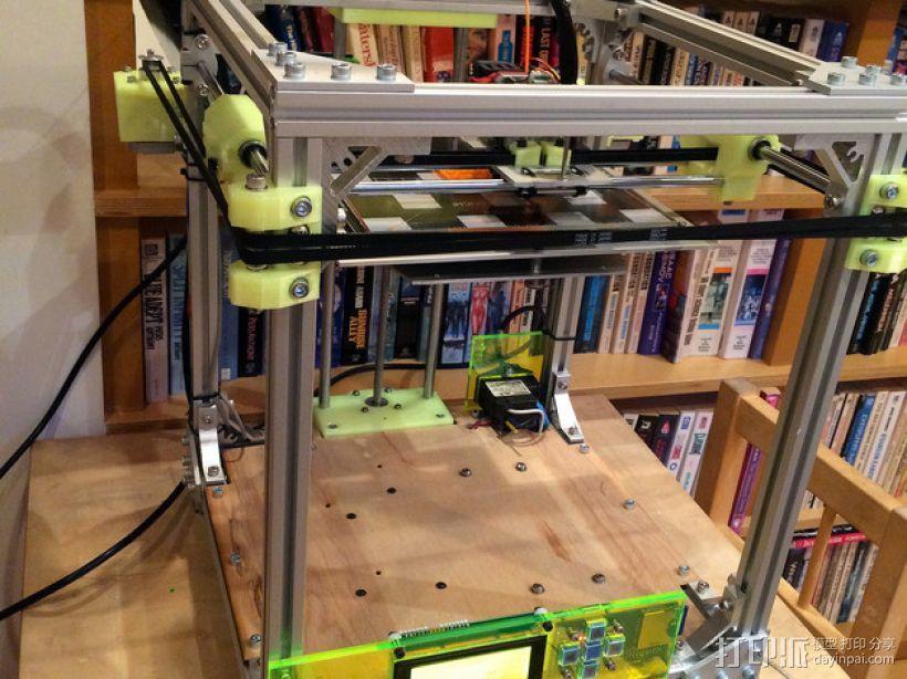 CoreXY 3D打印机 3D打印模型渲染图
