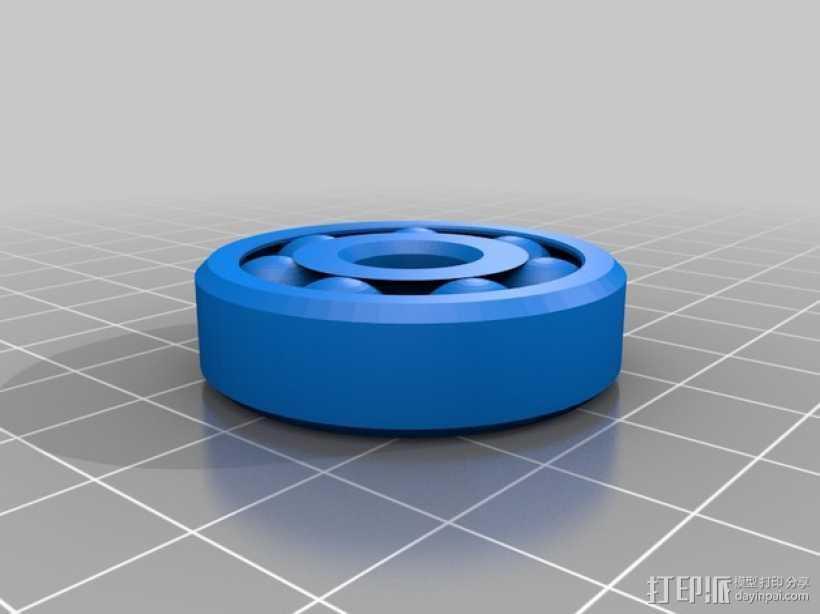 轴承 3D打印模型渲染图