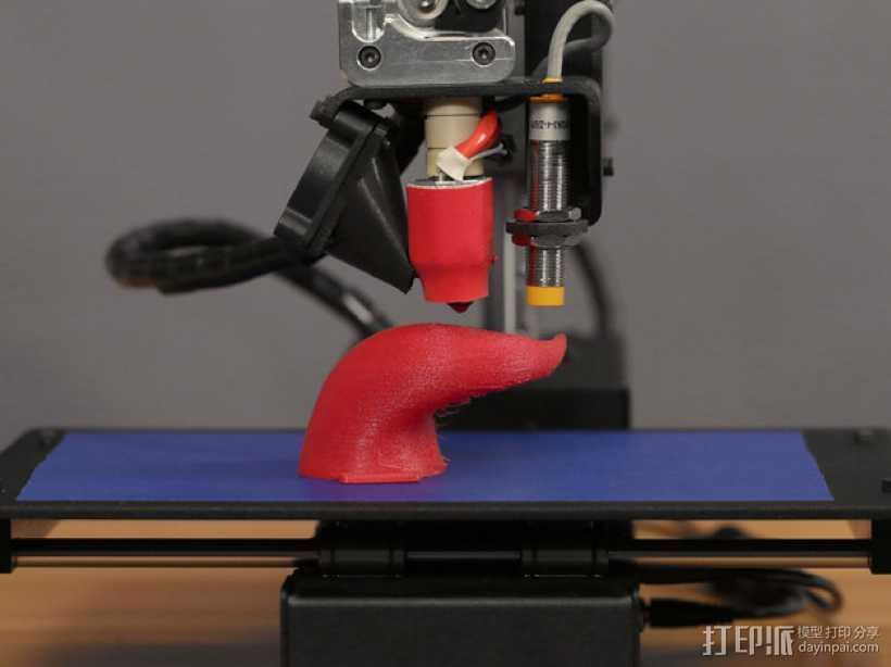 NinjaFlex 打印机 升级版 3D打印模型渲染图