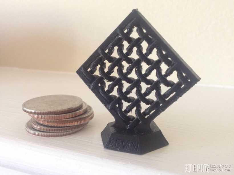 压力测试样品 3D打印模型渲染图