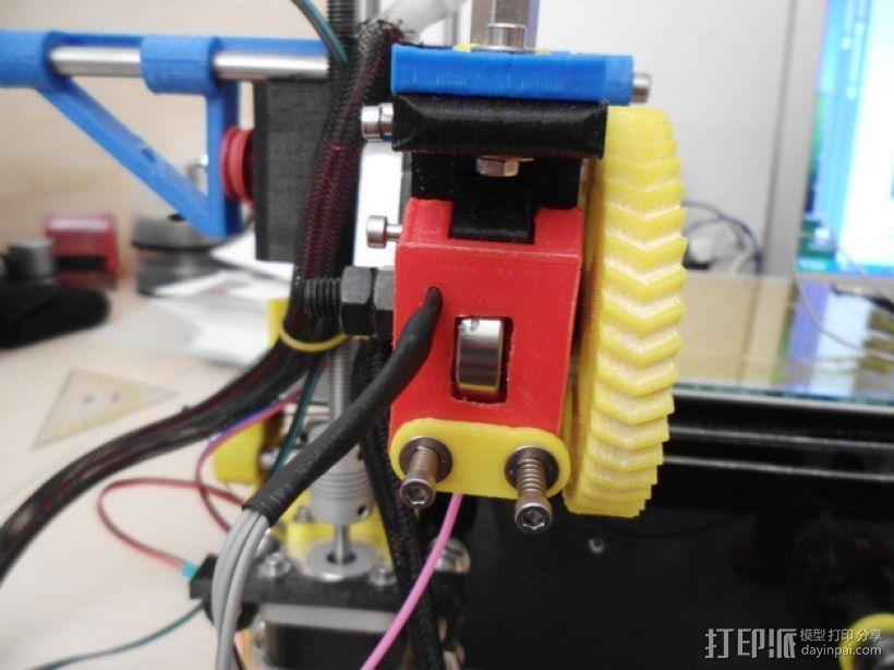 线材监控器 3D打印模型渲染图