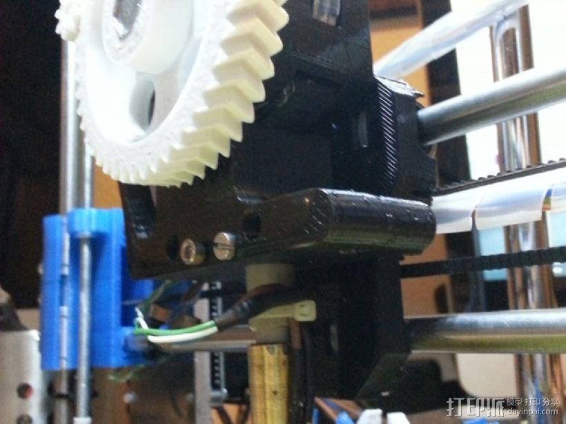 Wade韦德挤出机 3D打印模型渲染图