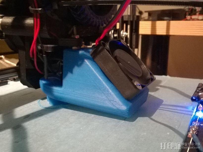 韦德适配器通风导管  3D打印模型渲染图