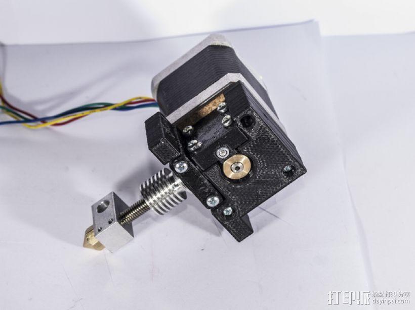 V10 JGR挤出机 3D打印模型渲染图