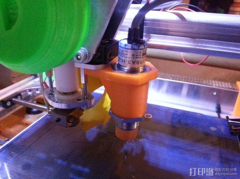 K8200 3D打印机打印床自动校准装置 3D打印模型渲染图