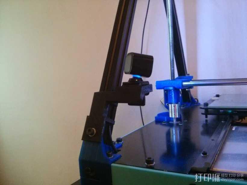 网络摄像头固定架 3D打印模型渲染图
