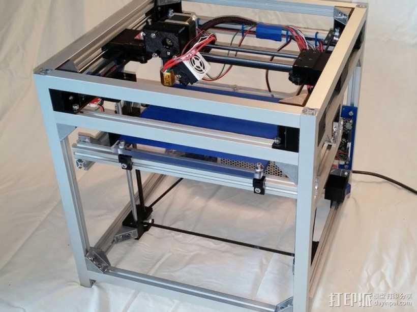 3uP 3D打印机 3D打印模型渲染图