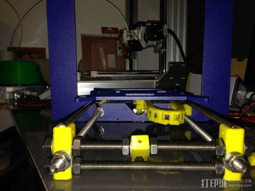 i3电缆坦克链固定架 3D打印模型渲染图
