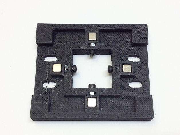 磁力3D打印机机床 3D打印模型渲染图
