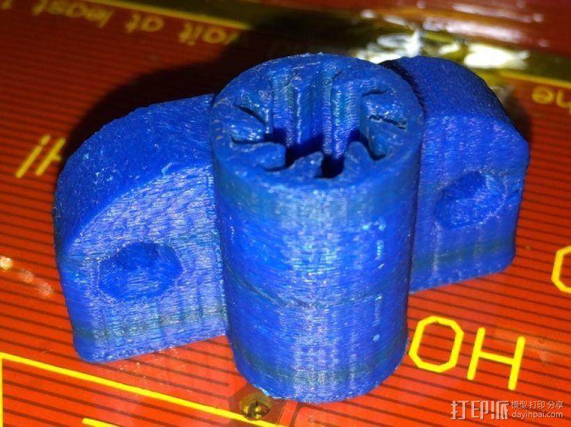 参数化衬套和轴承 3D打印模型渲染图