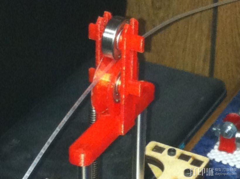 简易线材引导装置/Z轴稳定器 3D打印模型渲染图