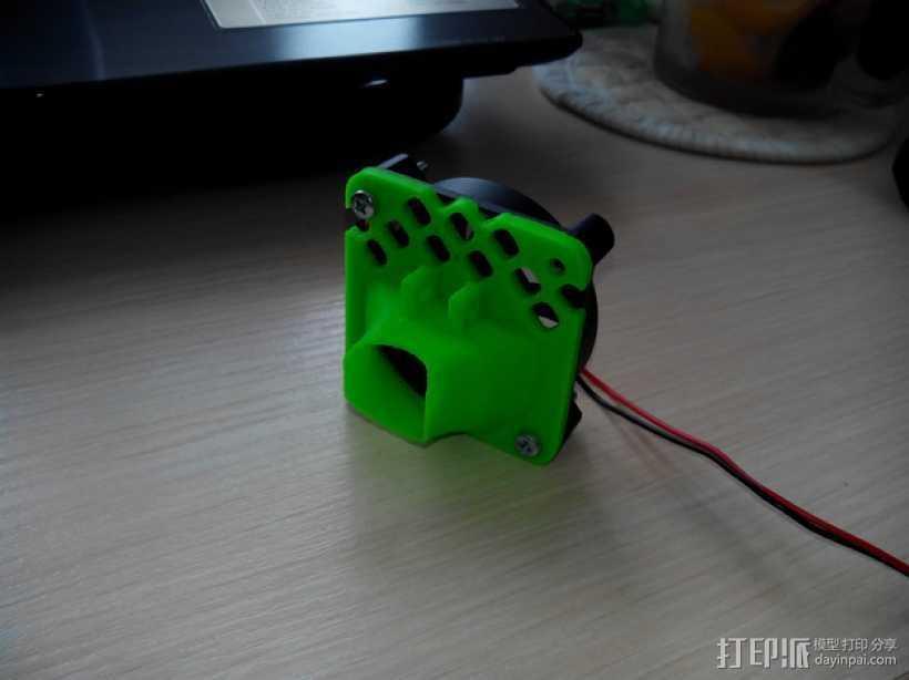 风扇护罩 3D打印模型渲染图